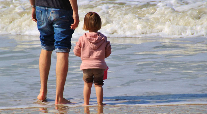 padre-hijo-hija-ecologico