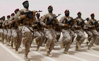 Tropas del ejército de Arabia Saudita. Foto: usni.org.