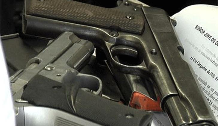 Nacionalistas preguntan a los ministerios de Defensa e Interior por el robo de armas de fuego en sus dependencias
