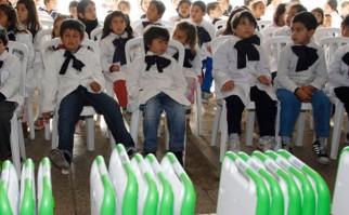 Baja histórica en repetición escolar se debe a programas aplicados desde 2005. Foto: Archivo Plan Ceibal