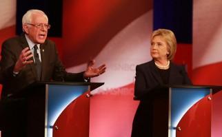 El debate ha sido clave entre los caucus de Iowa , donde Hillary ganó por décimas de punto, y las elecciones primarias del próximo martes en New Hampshire, donde Sanders es favorito según las encuestas. Foto: Bernie Sanders en Twitter.