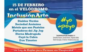 Festival InclusiónArte con murgas y humoristas el 15 de febrero