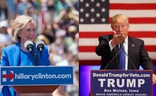 """Si bien la semana anterior comenzó oficialmente en Iowa el proceso electoral para decidir los candidatos, ese sistema correspondió a un """"caucus"""" o asamblea electoral, mientras que ahora en New Hampshire, son elecciones directas y secretas. Fotos: Facebook oficiales de los candidatos."""