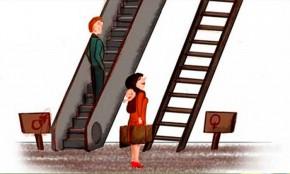 Ilustraciones que buscan generar conciencia sobre la Igualdad de Género