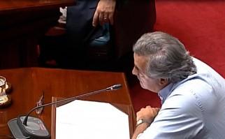 Jorge Larrañaga advierte que cada vez hay más recursos públicos manejados desde el derecho privado y  menos posibilidad de contralor