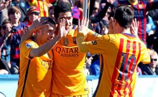 Más goles de Suárez en España.