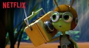 """Netflix lanza su exclusiva serie infantil """"Beat Bugs"""" solo con temas de los Beatles en versiones inéditas de actuales famosos"""