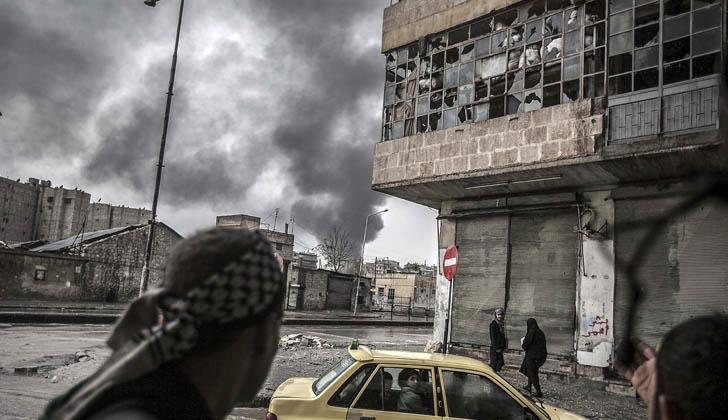 Recrudecimiento de combates hace fracasar inicio de las conversaciones de paz para Siria: ONU las reanudará el 25 de febrero
