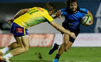 Los Teros vencieron a Brasil por la Américas Rugby Championship. Foto:  @RugbyUruguay