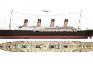 China construirá la réplica exacta del Titanic para la flota de cruceros Blue Star Line: será botado en 2018