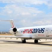 Amaszonas Uruguay realizará este miércoles 28 de setiembre el vuelo inaugural a Aeroparque