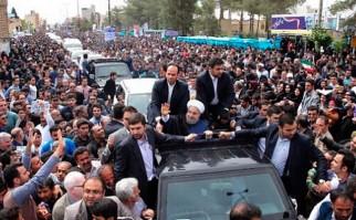 Irán apoya a su presidente: Se consolida el reformismo luego de la segunda vuelta electoral. Foto:@HassanRouhani
