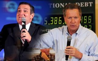 Precandidatos Cruz y Kasich anuncian alianza para que Donald Trump no triunfe en las elecciones