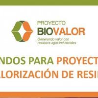 Biovalor convoca a productores, empresas y/o emprendimientos que deseen desarrollar un proyecto de valorización de residuos