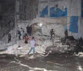 Ataques aéreos a hospital sirio dejan cerca de 50 personas muertas y decenas de heridos