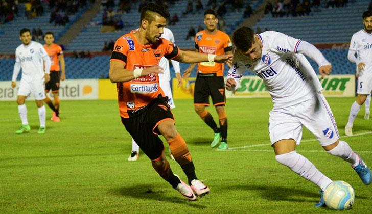 Nacional igualó 1 a 1 con Sud América y perdió la posibilidad quedar puntero junto a Peñarol