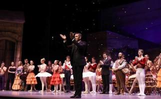 Solo un mes fuera: Julio Bocca regresa a la dirección del Ballet Nacional del Sodre