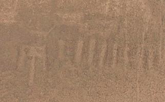 En Perú descubren un nuevo geoglifo entre las líneas del desierto de Nazca. Foto: Masato Sakai, Universidad de Yamagata, Japón