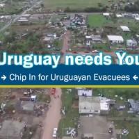 Estudiantes uruguayos en Gran Bretaña lanzan campaña mundial solidaria por los evacuados a causa del clima