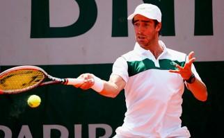 Buen inicio de Cuevas en Roland Garros . Foto: AFP