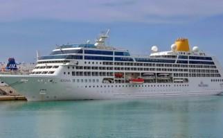 Crucero Adonia. Foto: Wikimedia Commons.