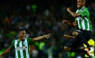 Atlético Nacional y Pumas son los primeros clasificados a los cuartos de final de la Libertadores. Foto: AFP