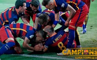 Barcelona se consagró campeón de la Copa del Rey pero Suárez salió lesionado y preocupa a Uruguay