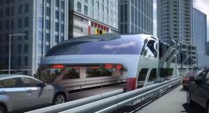 Bus flotante: el nuevo paradigma del transporte urbano que promete acabar con los embotellamientos