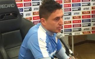 "Cristian Rodríguez: ""Cuando juega Suárez se juega diferente"". Foto: AUF"