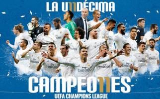 Real Madrid venció en los penales al Atlético y es el campeón de la Champions League 2015/16. Foto: Facebook Real Madrid C.F.