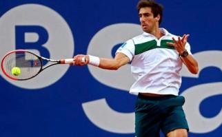 Pablo Cuevas y un nuevo triunfo en el Masters 1000 de Madrid. Foto: AFP