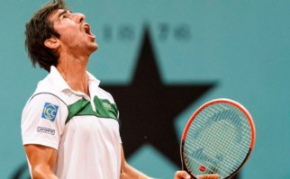 Pablo Cuevas cayó ante Berdych por la 3era ronda de Roland Garros. Foto: @PabloCuevas22