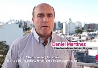 Daniel Martínez protagoniza nueva campaña de ONU Mujeres HeForShe
