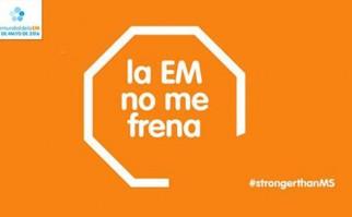 """""""La esclerosis múltiple no me frena"""", campaña por el Día Mundial de la enfermedad ."""