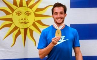 Emilano Lasa ganó el oro en la Bottrop NRW Gala de Alemania. Foto: @PrensaCAU