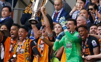 El Hull City de Abel Hernández ascendió a la Premier League. Foto: @HullCity