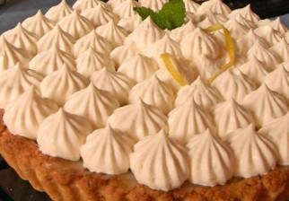 Disfruta de un delicioso lemon pie 100% vegano