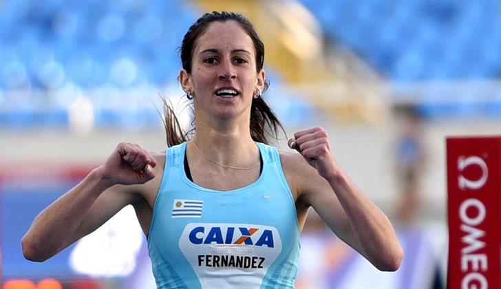 María Pía Fernández obtuvo la sexta medalla para Uruguay en el Iberoamericano de Río. Foto: @PrensaCAU