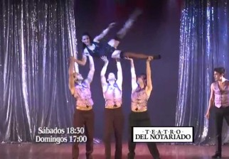 Fin de semana en el Teatro del Notariado: El Crédito, Inolvidables, Improglam, Encantada y Brams la komedia de los herrores