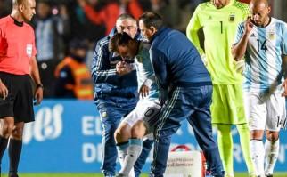 Argentina venció a Honduras en el amistoso previo a la Copa América pero preocupa la salud de Messi. Foto: AFP