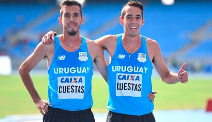 Nicolás Cuestas ganó la medalla de bronce en los 5000 metros del Iberoamericano de Río. Foto: @Llamaceleste