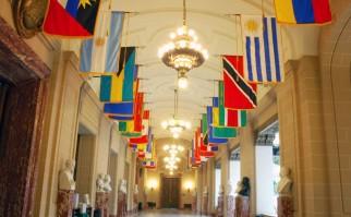 Salón de los Héroes, dentro del edificio de la sede de la OEA en Washington D.C. Foto: Juan Manuel Herrera - OAS/OEA.