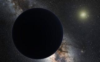 """Representación artística del """"Planeta Nueve"""". Foto: ESO / Wikimedia Commons."""