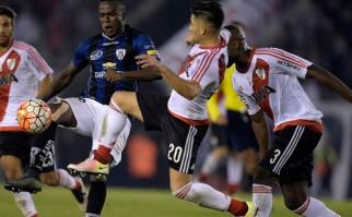 Independiente del Valle eliminó a River Plate de la Libertadores. Foto: AFP
