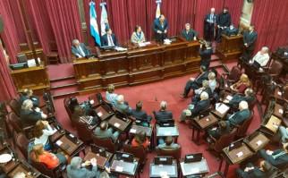 Senado de Argentina entrega distinción de honor post morten a Zelmar Michelini y Héctor Gutiérrez Ruiz. Foto: @SenadoArgentina