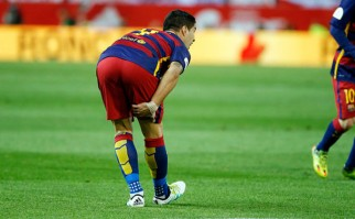"""Suárez tendrá """"tres semanas de inactividad"""" pero viajará a la Copa América. Foto: Barcelona FC"""