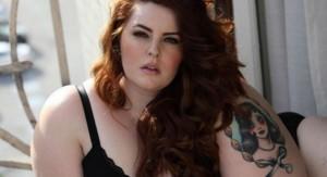 La modelo XL Tess Holliday se desnudó para reivindicar la diversidad de los cuerpos