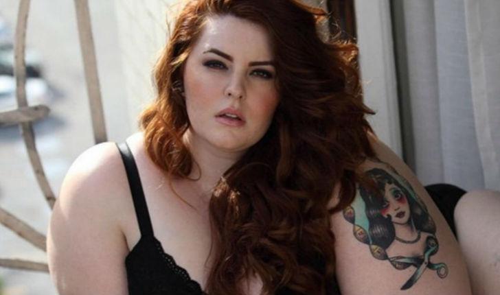 La modelo XL Tess Holliday se desnudó para reivindicar la diversidad de los cuerpos.
