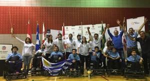 Uruguay campeón de América de fútbol en silla de ruedas en Canadá
