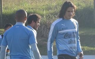 Entrenamiento de la selección uruguaya / Foto: AUF